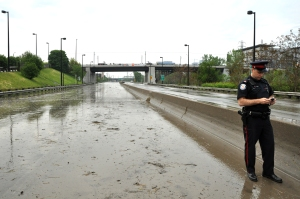 Don Valley Parkway Flood